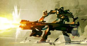 big gun by Haidak