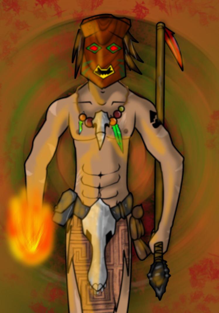 Voodoo, The Amazon Assassin by Samurai-Grant