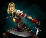 Warden Commander Lyna Mahariel