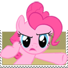 Pinkie Pie Thats What I Said Stamp