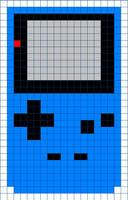Game Boy Color Cross Stitch Pattern by moonprincessluna