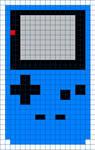 Game Boy Color Cross Stitch Pattern