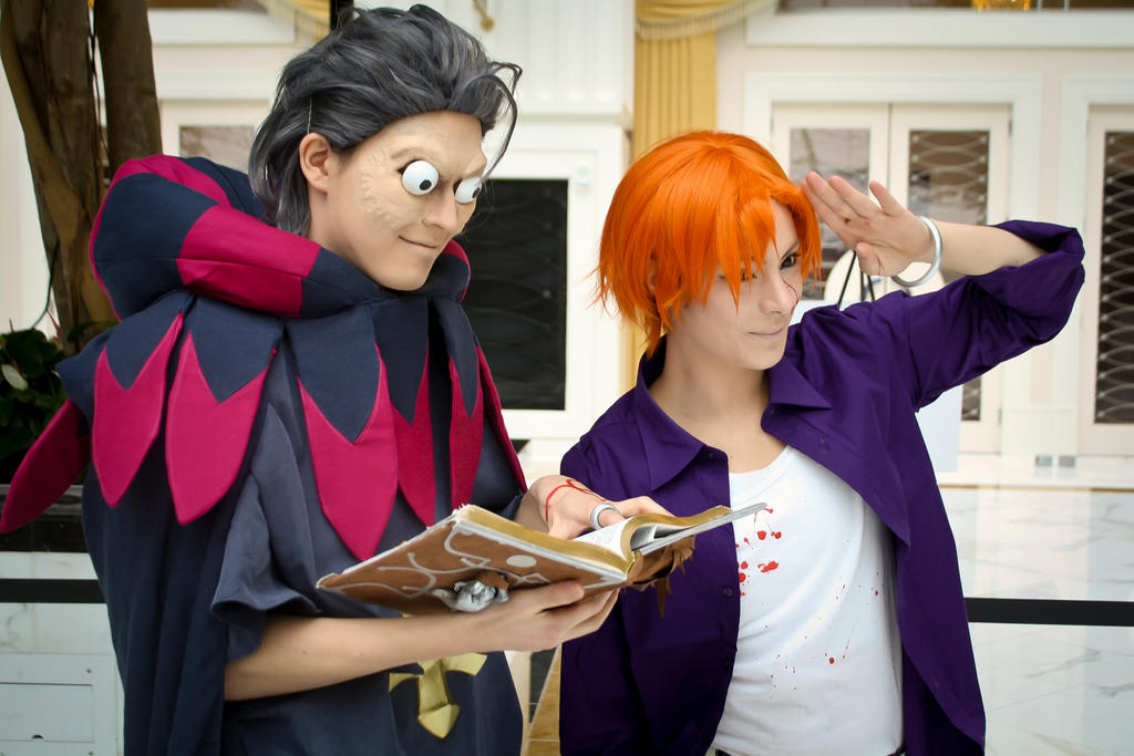 Fate/Zero - Caster team by v-o-n