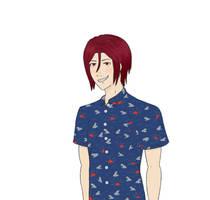 Shark Shirt by tesstriestoart