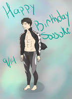 Happy Birthday Sousuke! by tesstriestoart