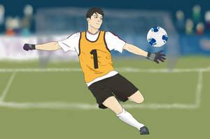 Soccer Sousuke by tesstriestoart