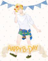 Birthday Nagisa by tesstriestoart