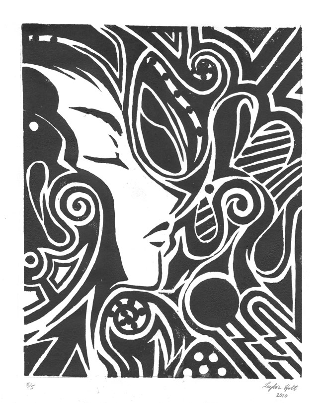 Linoleum Print Designs Simple Linoleum Print ...