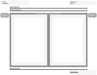 Comic Spread Planner by LoomStudioCo