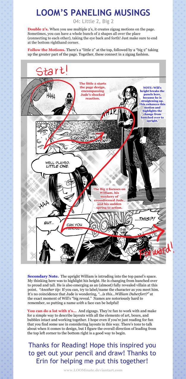 Loom's Paneling Musings 04: Little 2, Big 2 by LOOMcomics