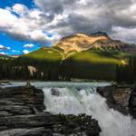 Athbasca Falls by symbiandj