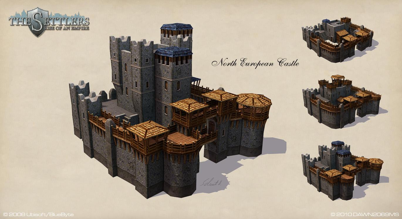 North European Castle by Dawn2069MS