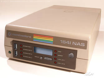 C64 - Commodore 1541-NAS front