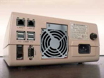 C64 - Commodore 1541-NAS back