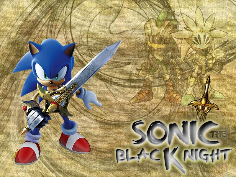 Sonic Black Knight Wallpaper By Applejackles