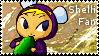 Shelli Fan Stamp by applejackles