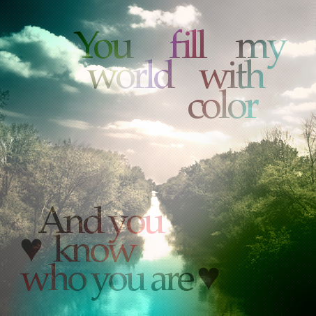 You Fill My World With Color By Applejackles ...