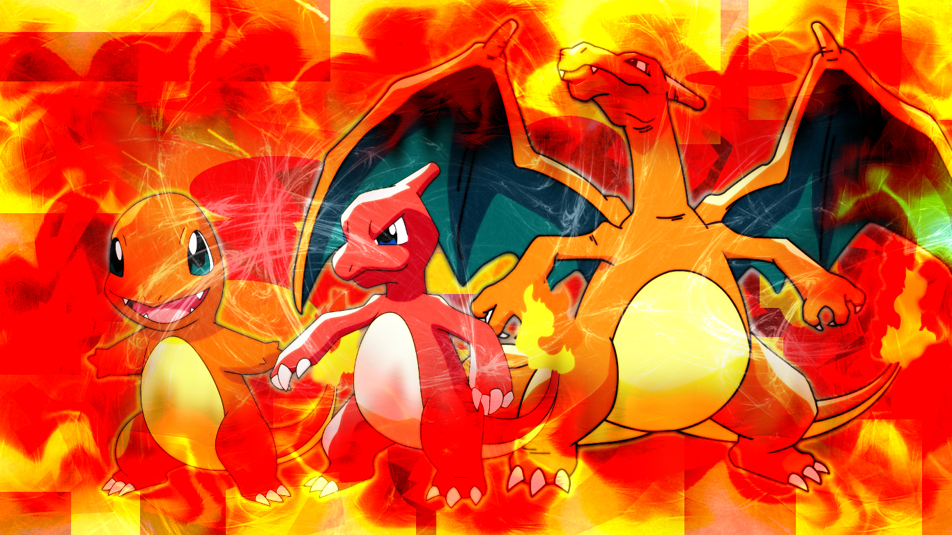 Charmander evolution wallpaper