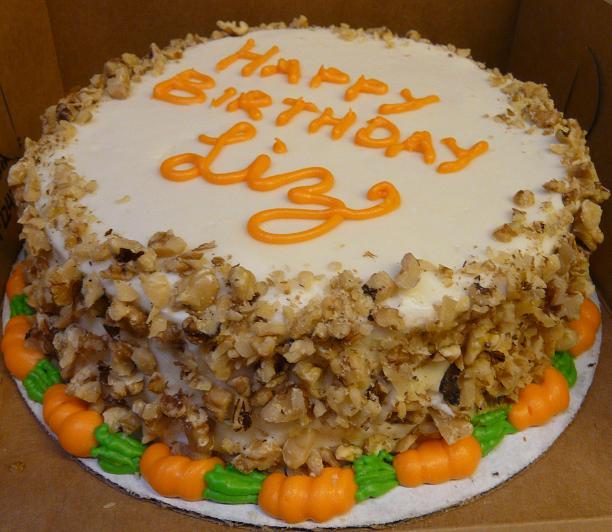 Happy Birthday Carrot Cake By Clear Blue Ocean On Deviantart