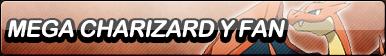 Mega-Charizard Y Fan Button