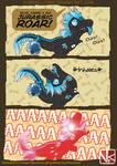 Big Jurassic Roar | SHOKUBELL COMIC STRIP