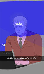 Germany at any G8 meeting | HETALIA by VonKellcsiis