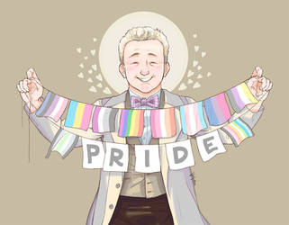 Aziraphale is proud of y'all | GOOD OMENS by VonKellcsiis