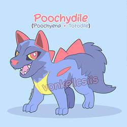 Poochydile | POKEMON FUSION