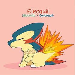 Elecquil | POKEMON FUSION
