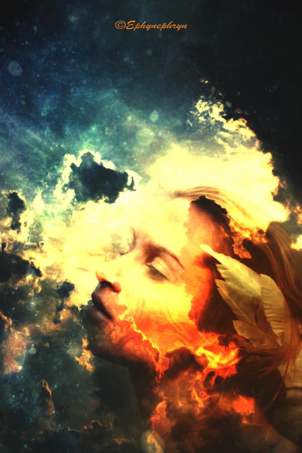 The golden sorrow by Ephynephryn