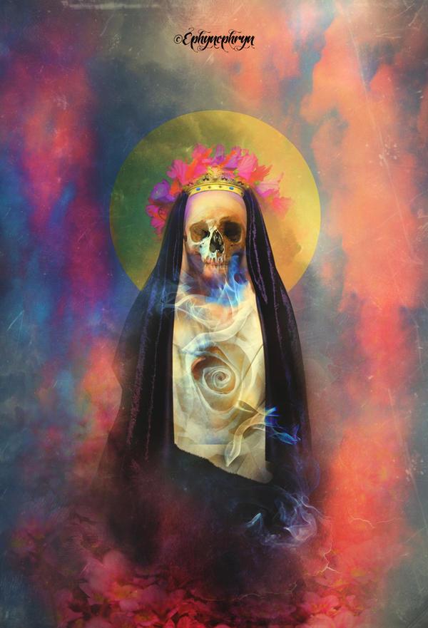 Santa Muerte by Ephynephryn