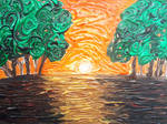 Sunset's Path