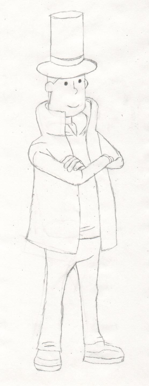 Professor Layton by ThePlainsman