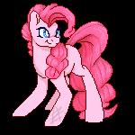 Pixel Pinkie by AuraZandra