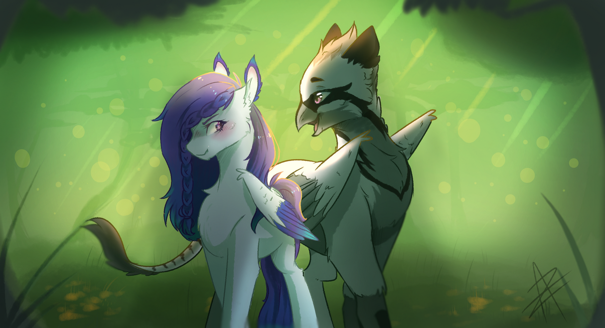 COM - Forest by Myralilth