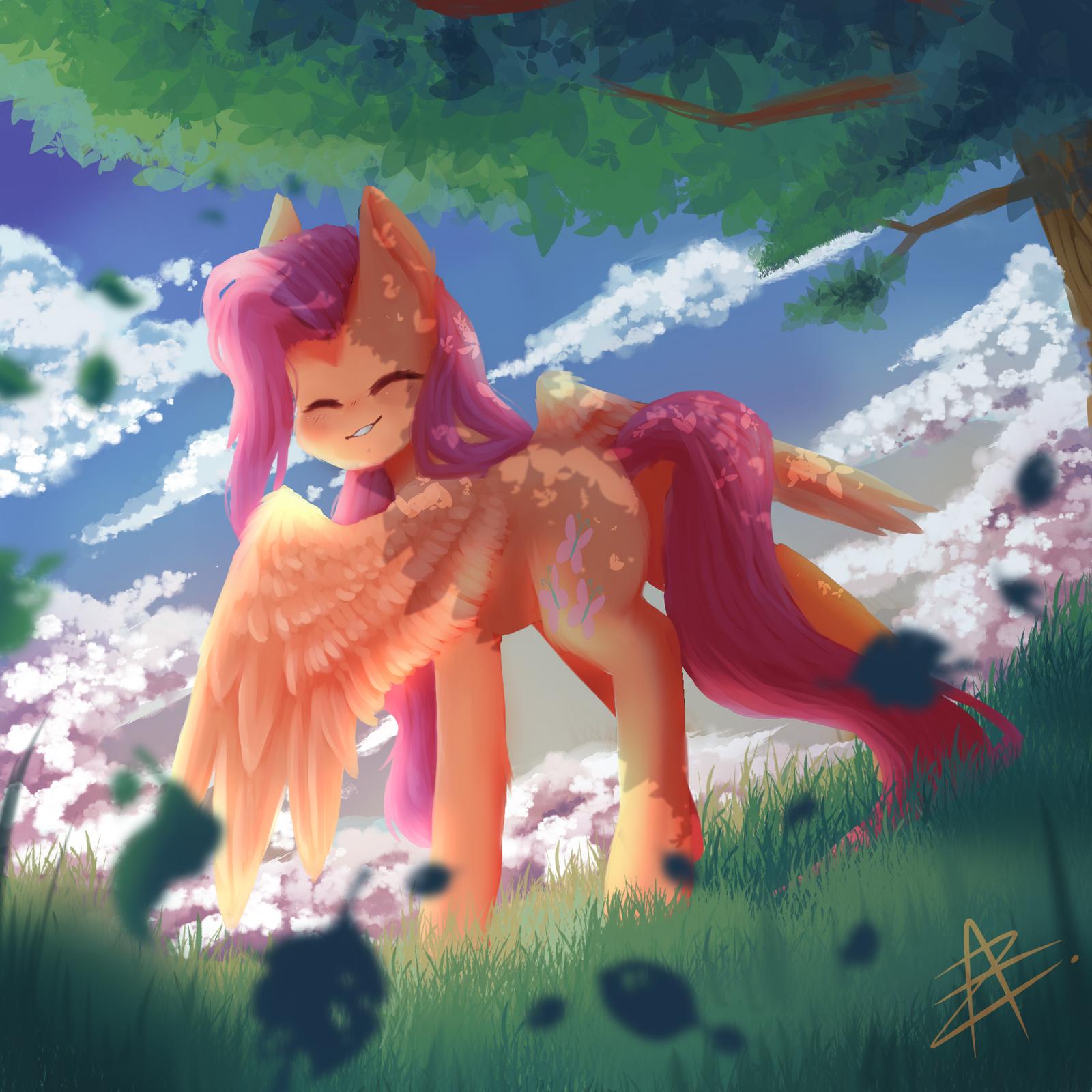 Fluttershy by Myralilth