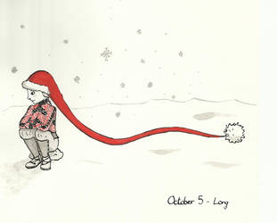 Inktober 2017 Day 5 - Long by MilieLitre