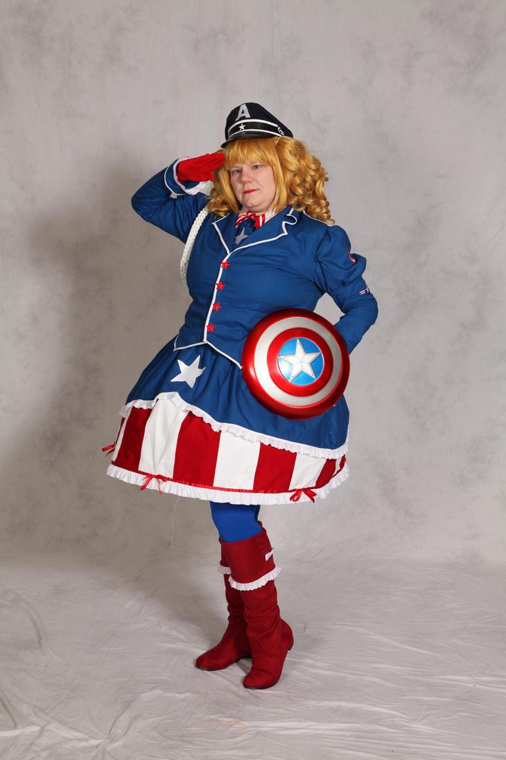 Lolita Captain America by Lady-Tigress