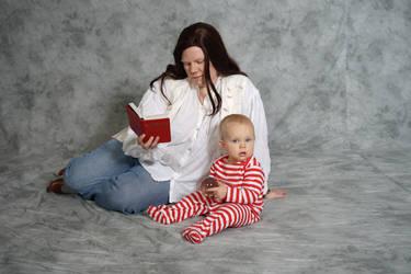 Ignoring the baby...