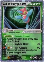 Cyber Porygon EX by Nod3