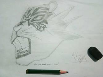 Tiger by AzarelCS-777
