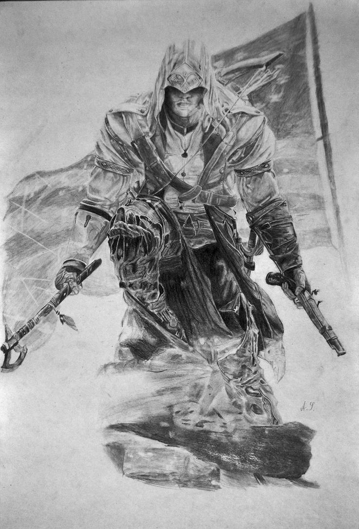 Connor Kenway by waaasup