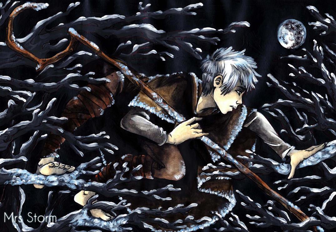 Jack Frost - rise of guardians by HepburnStorm