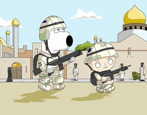 Private Brian and Stewie by kevinBrok