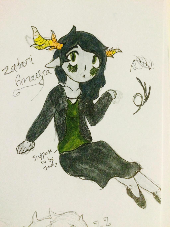 Zatari amayra ( redraw) by bpcampbell
