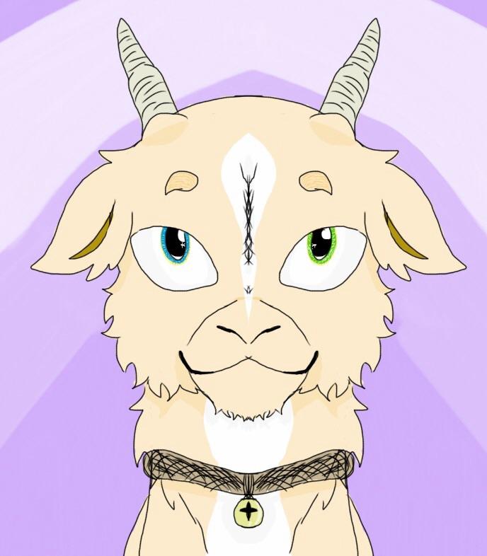 Precious goat child oc by bpcampbell