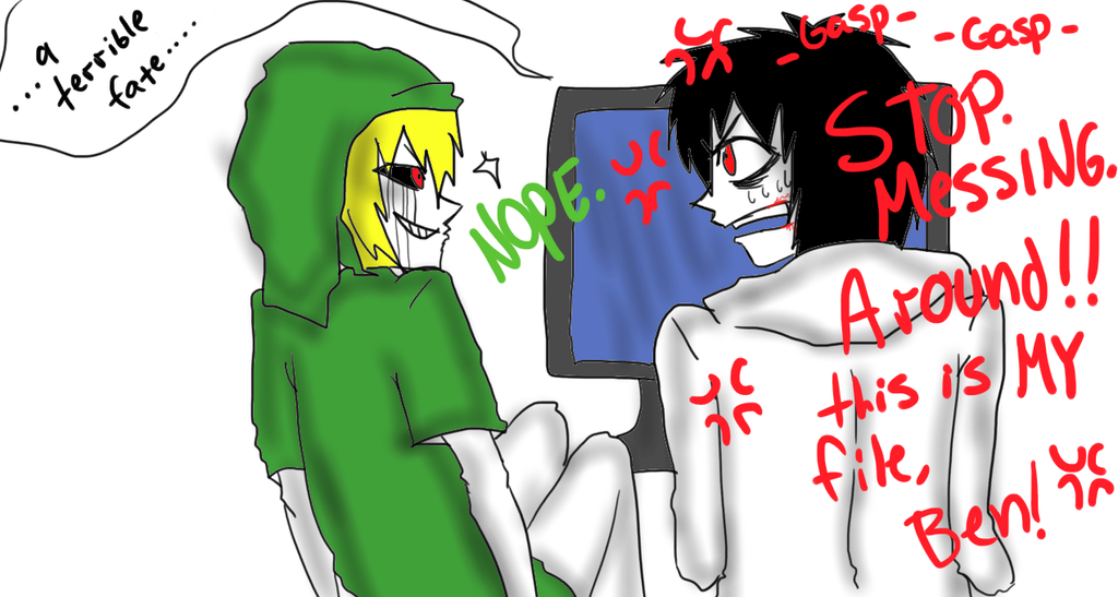 Ben drowned creepypasta jeff the killer