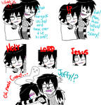 Jeff The Killer and Laughing Jack-Comic #8.