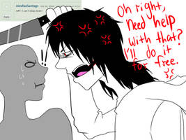 Ask Jeff The Killer-Question 8 by MikaelBratLoni