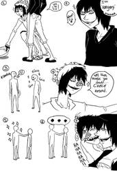 Jeff The Killer and Laughing Jack-Comic 14 by MikaelBratLoni